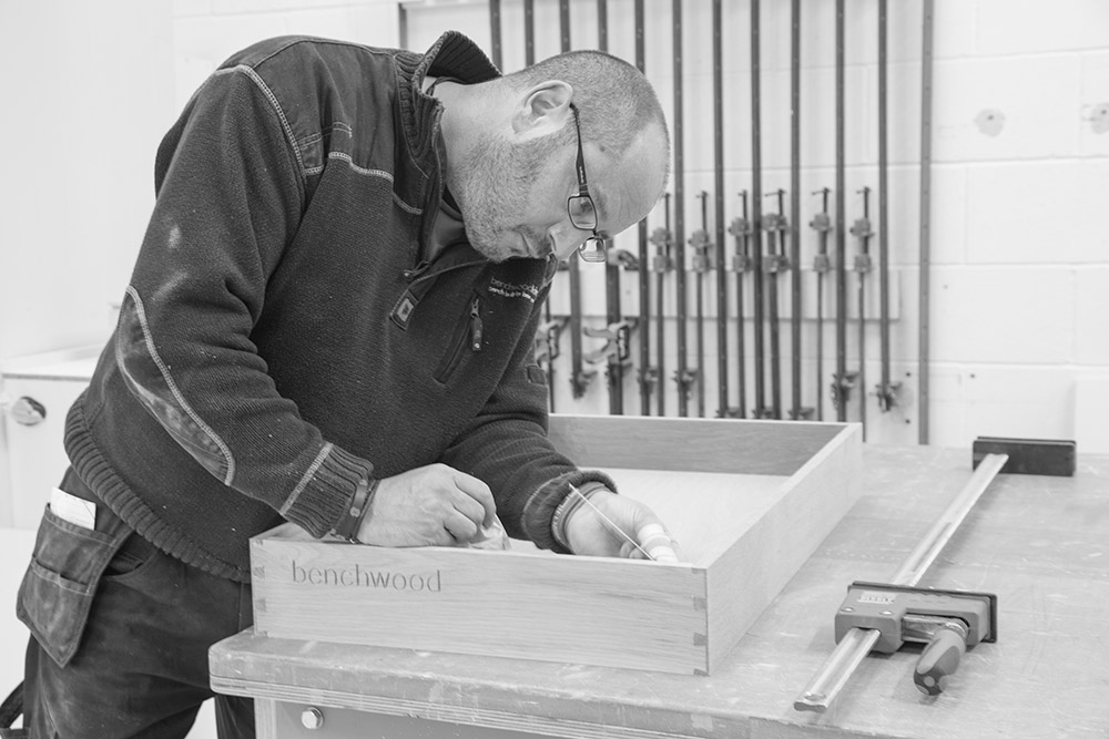 Benchwood Kitchens stays faithful to quality with handmade dovetail joints