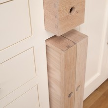 small dovetail drawer and two trays