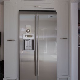 built in fridge unit